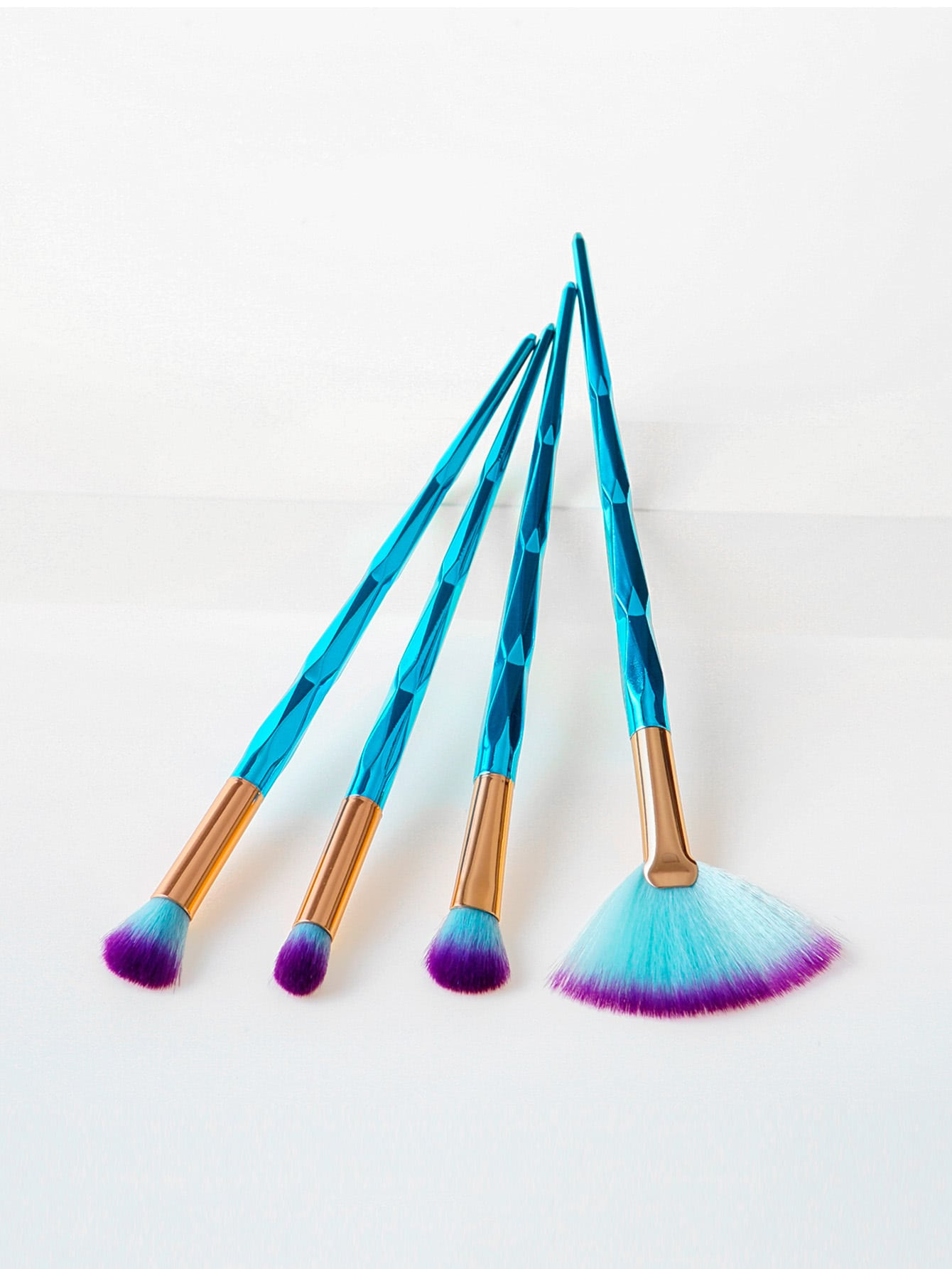 Diamond Handle Makeup Brush 4pcs