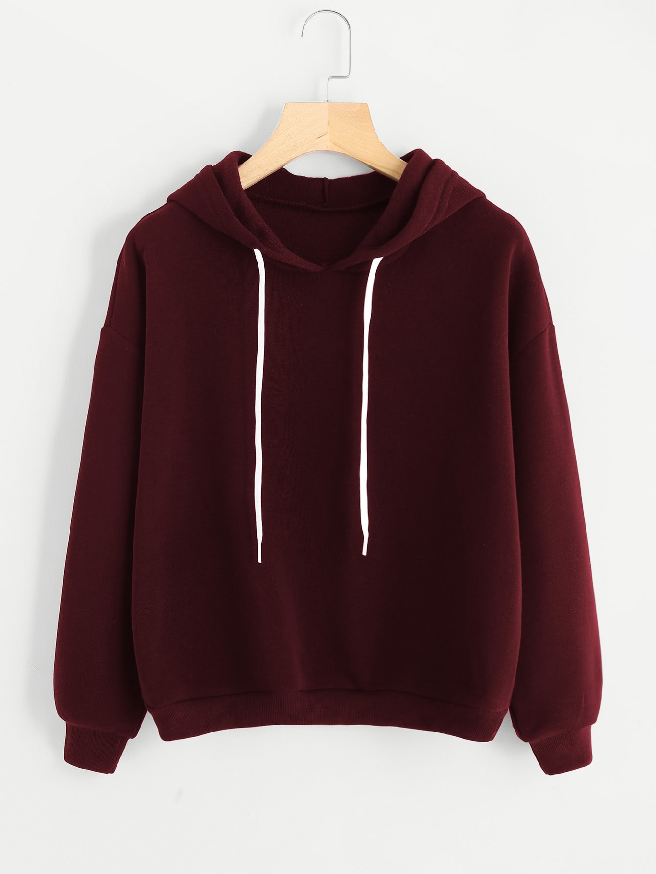 Drop Shoulder Hoodie two tone drop shoulder sweatshirt