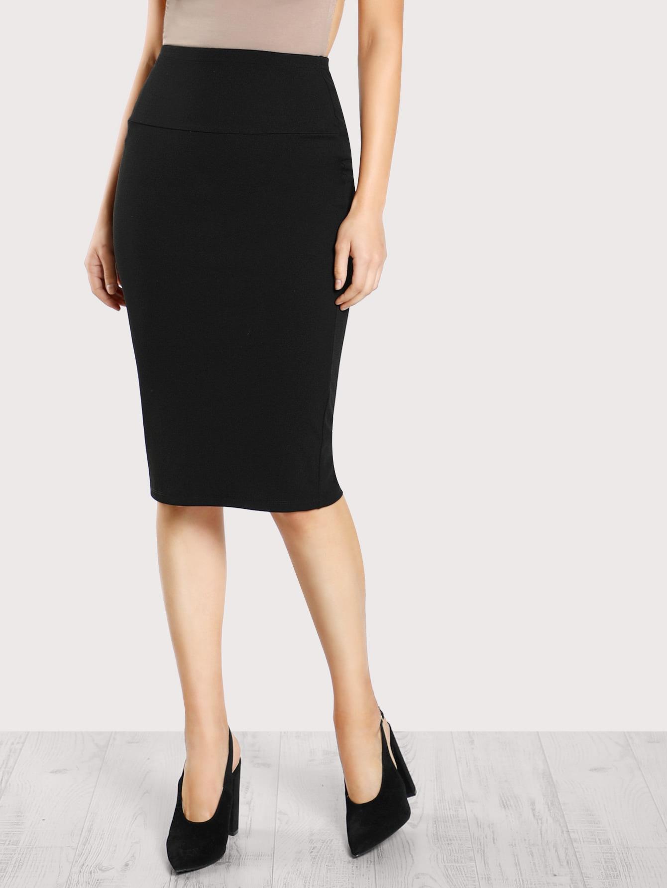 Купить Модная юбка-карандаш с эластичной талией, Christen Harper, SheIn