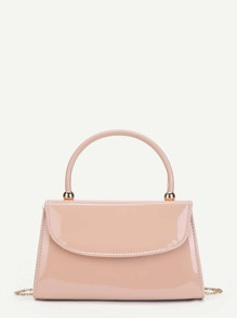Flap PU Chain Shoulder Bag