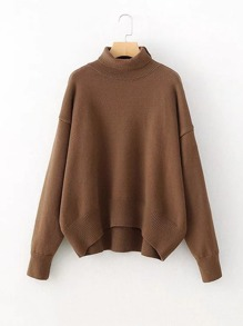 Turtleneck Oversized Sweater