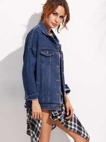 Giacca di jeans stile boyfriend