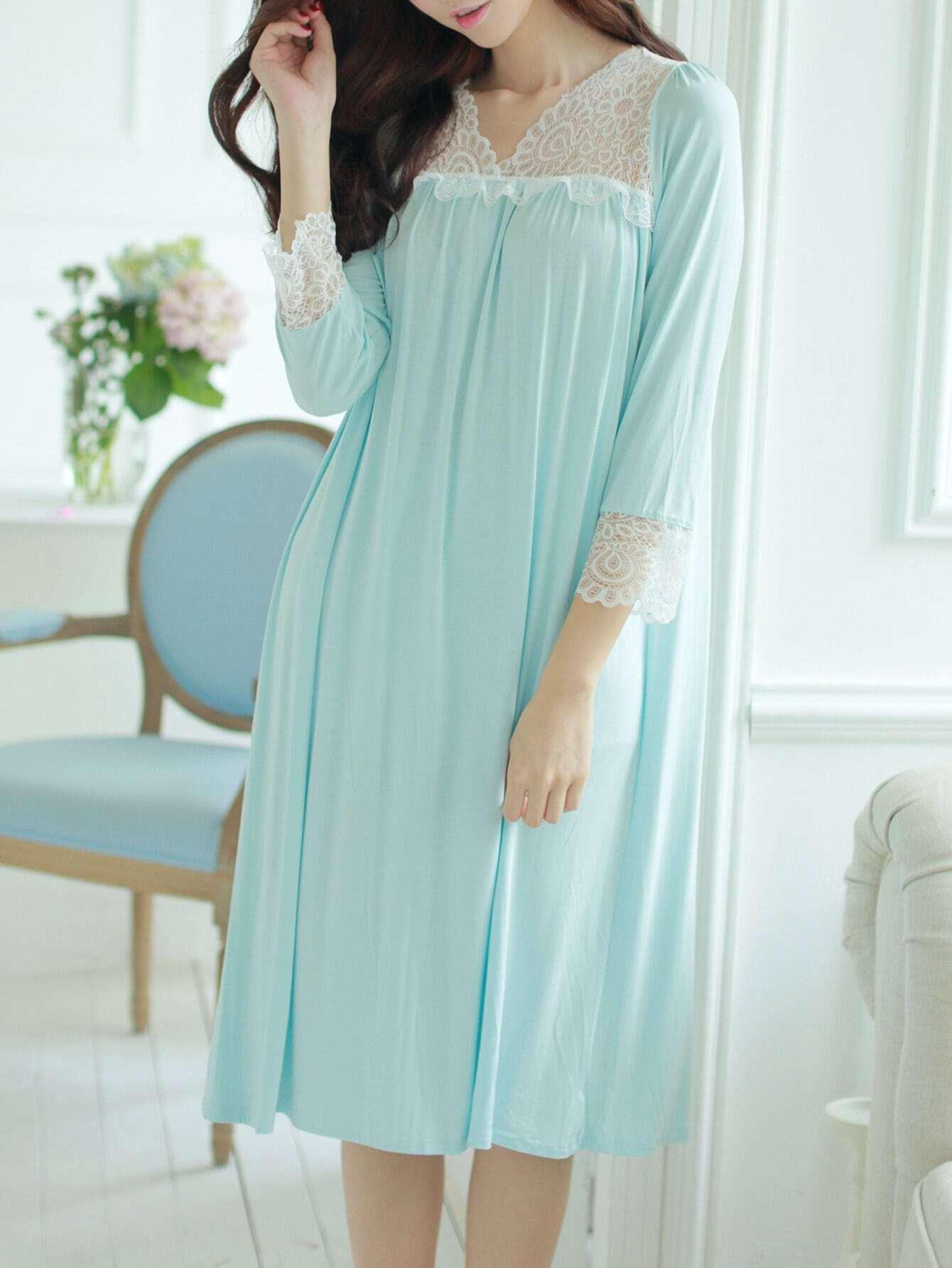 Contrast Lace Trim Dress maison jules new junior s small s pink combo lace crepe contrast trim dress $89