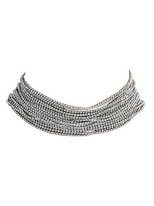 Multi Layered Exaggerated Choker