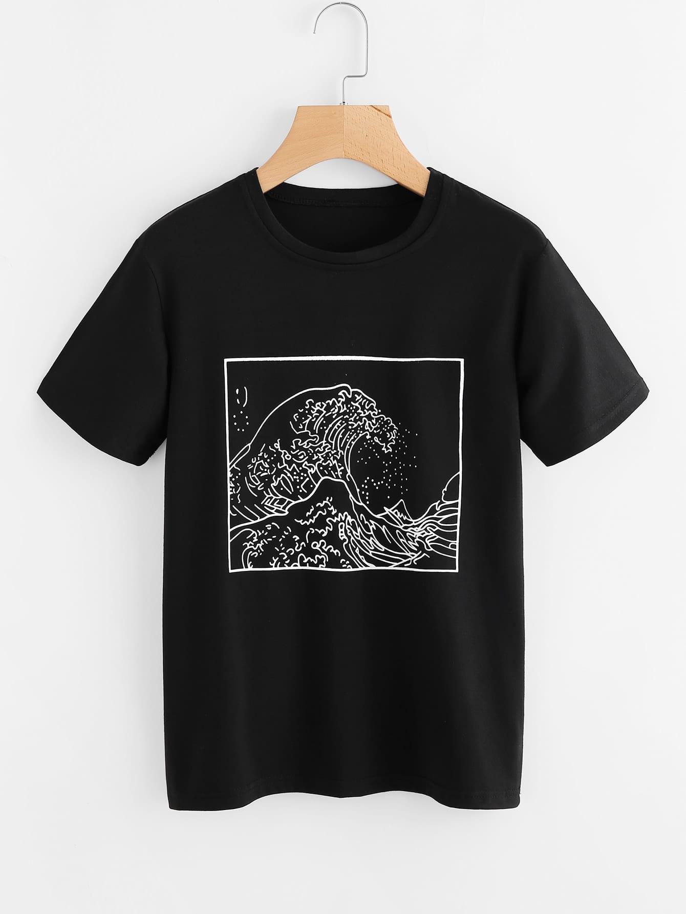 Graphic Print Tee