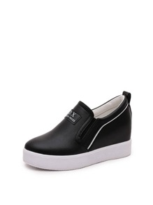 Slip On Hidden Wedge Sneakers