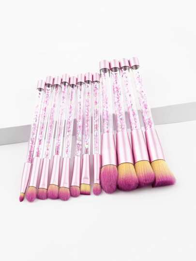 Makeup Pinsel Set mit Treibsand Geiff 12pcs
