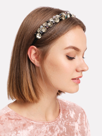 Rhinestone Design Headband