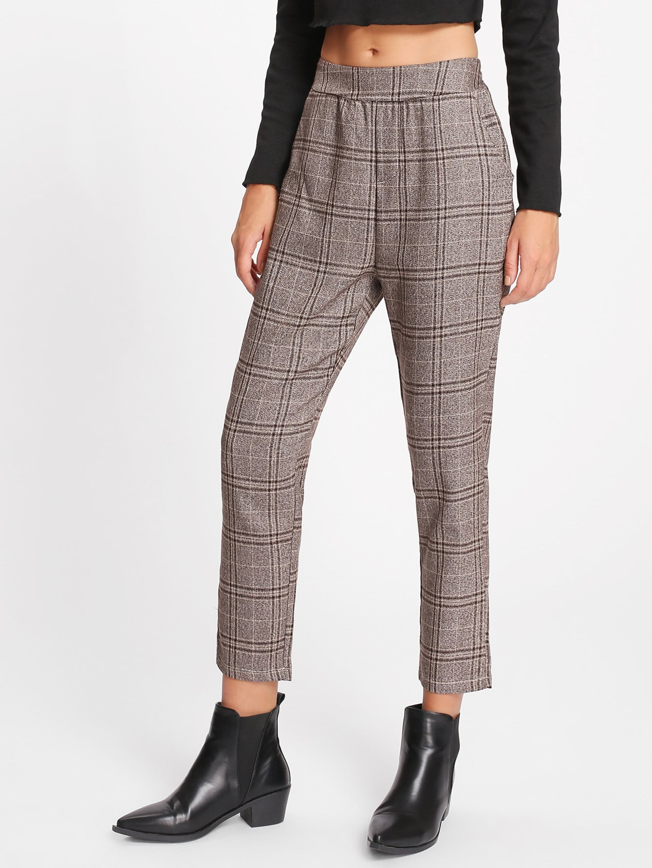 Tartan Plaid Capri Pants