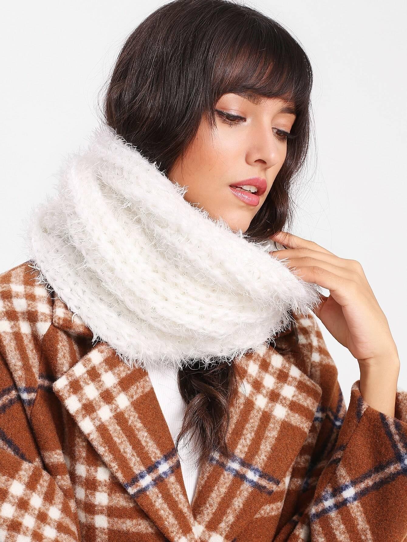 Knit Infinity Scarf шарф fundamentals knit scarf