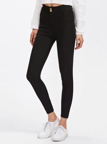 Pantalons genou ajusté