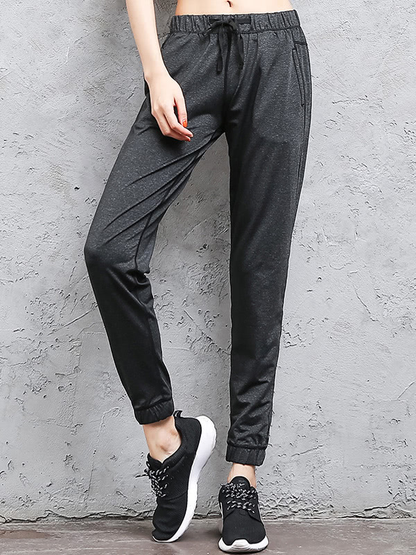 Image of Contrast Stitching Sweatpants