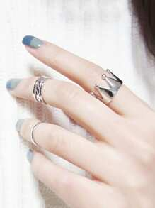 Crown Ring Set 3pcs
