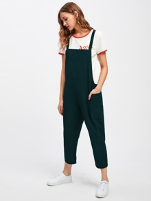 Pocket Side Overall Pants