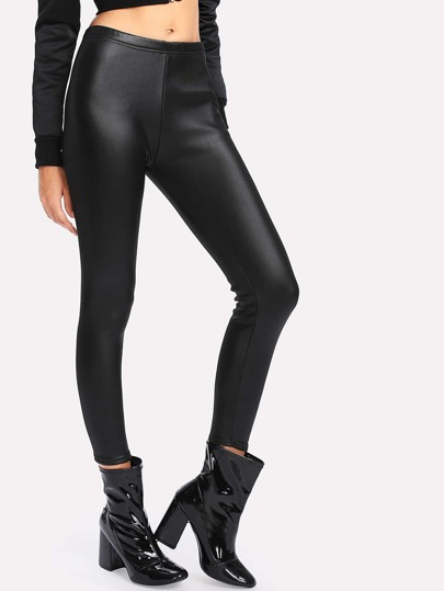 Leggings ajusté en PU