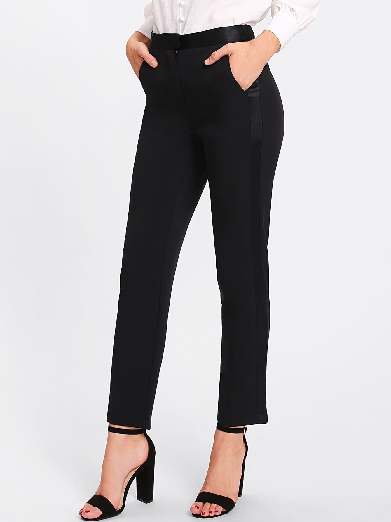 Image of Tailored Suit Pants