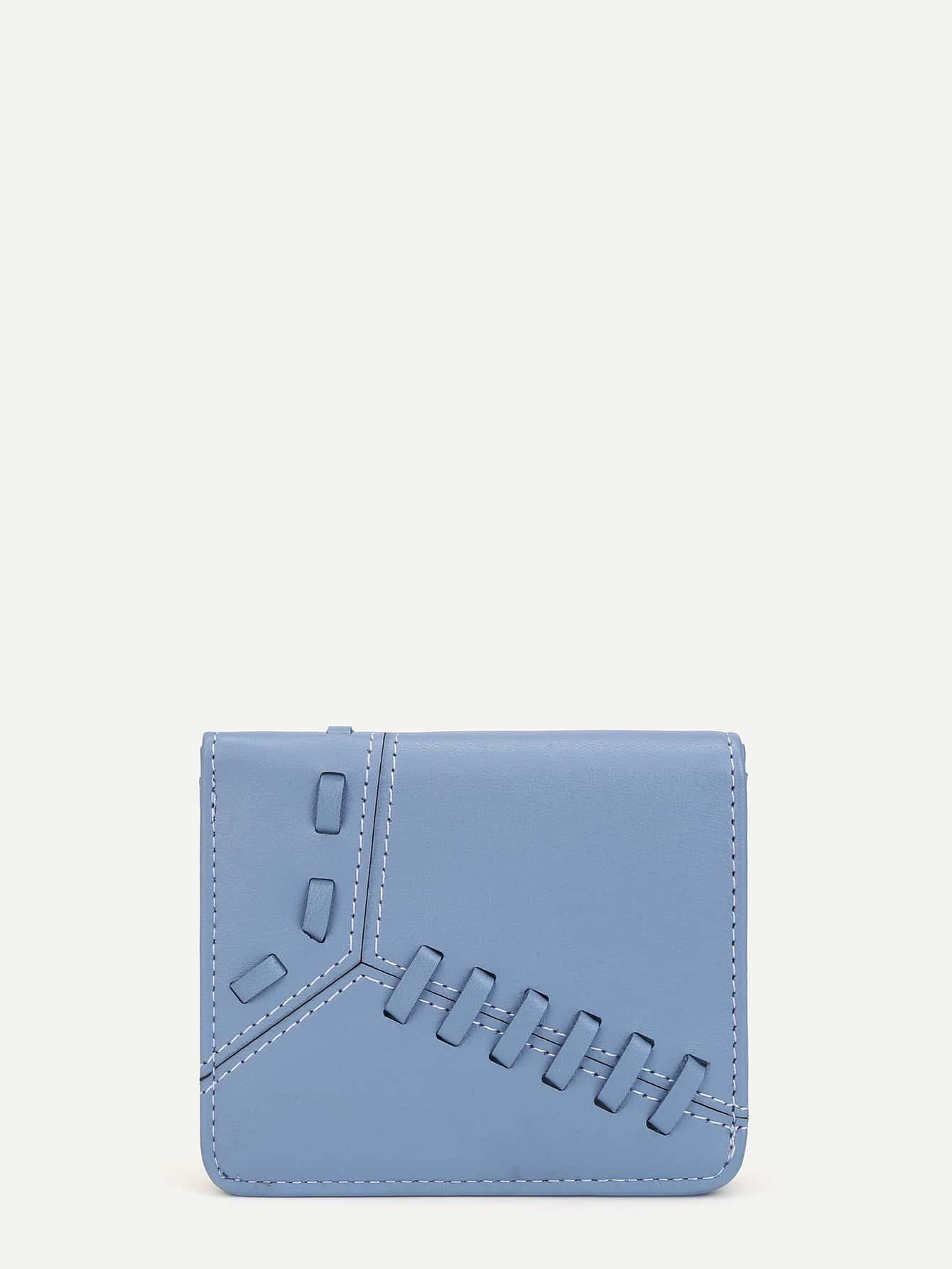 Whipstitch Design PU Purse