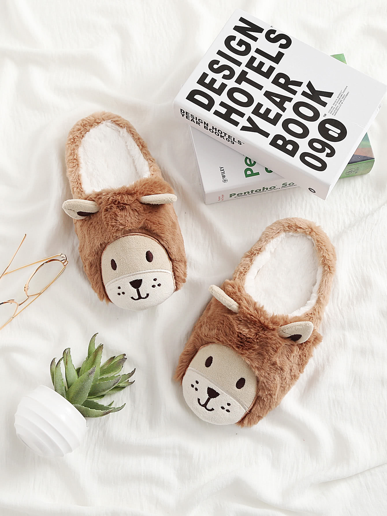 Image of Double Ear Design Cute Slippers