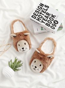 Double Ear Design Cute Slippers