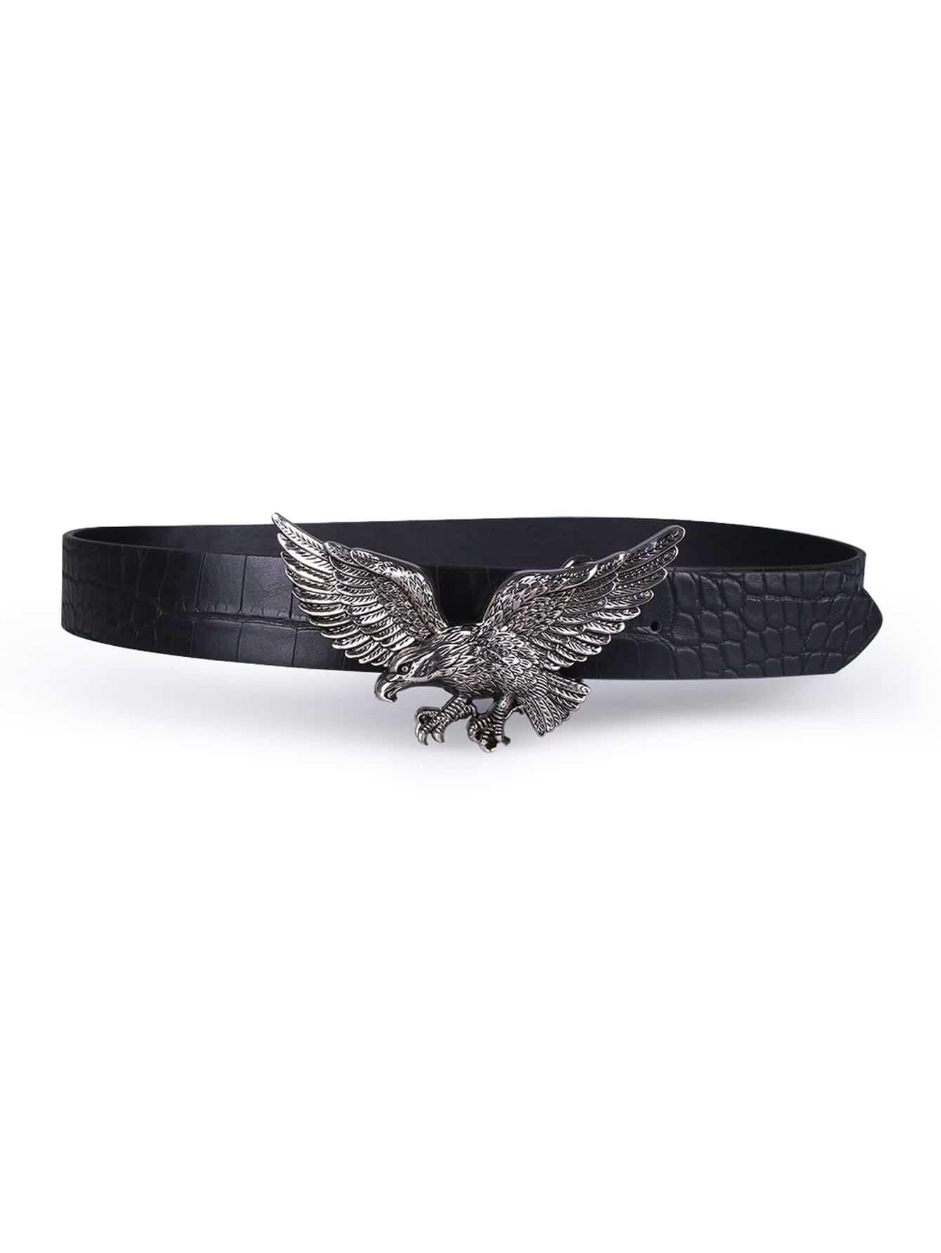 Eagle Shaped Buckle Belt