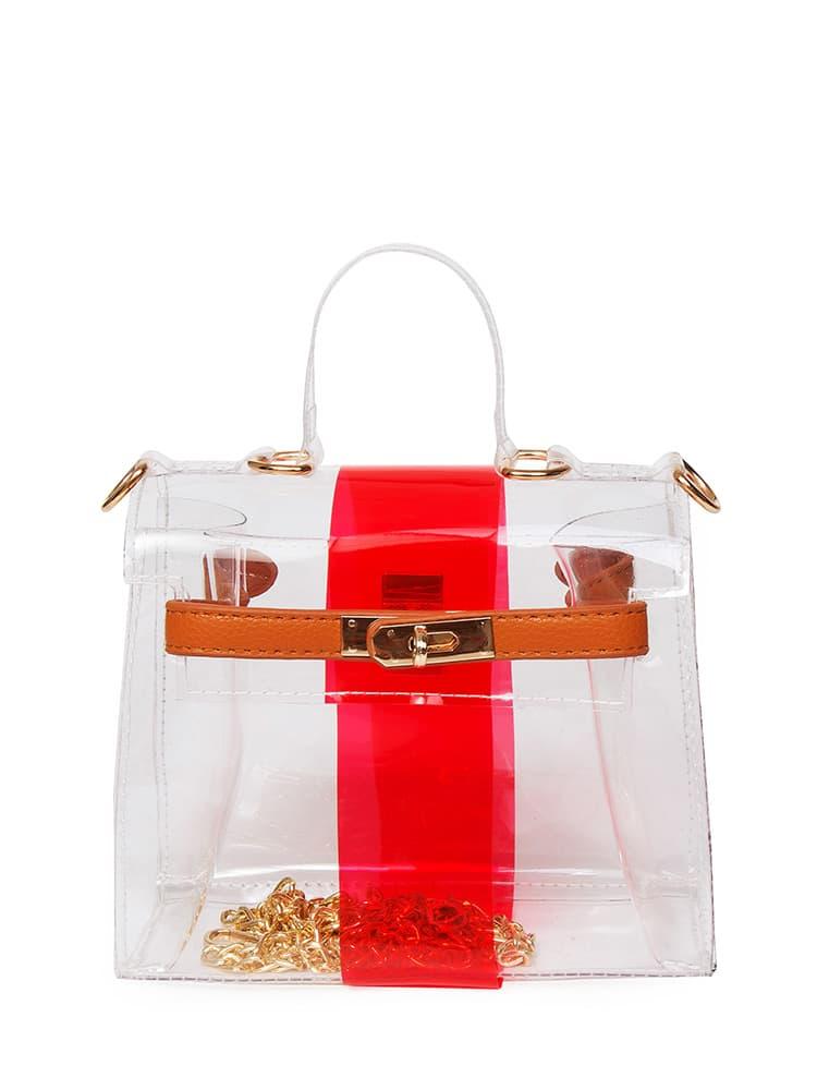 Clear Satchel Bag сумка the cambridge satchel