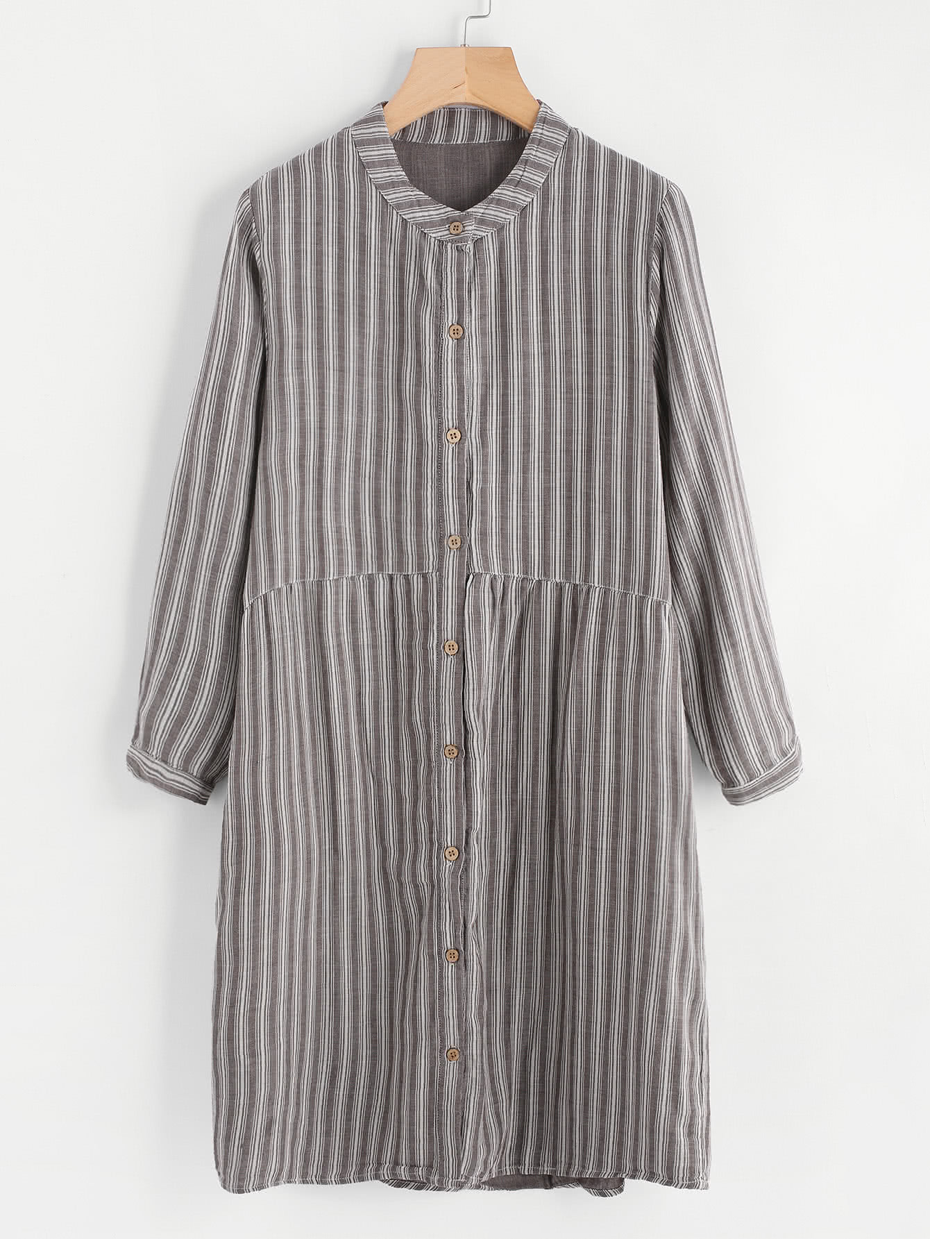 Striped Shirt Dress зонт zest umbrellas 23785 23785 798