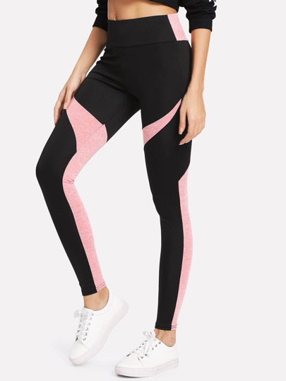 Leggins de color block