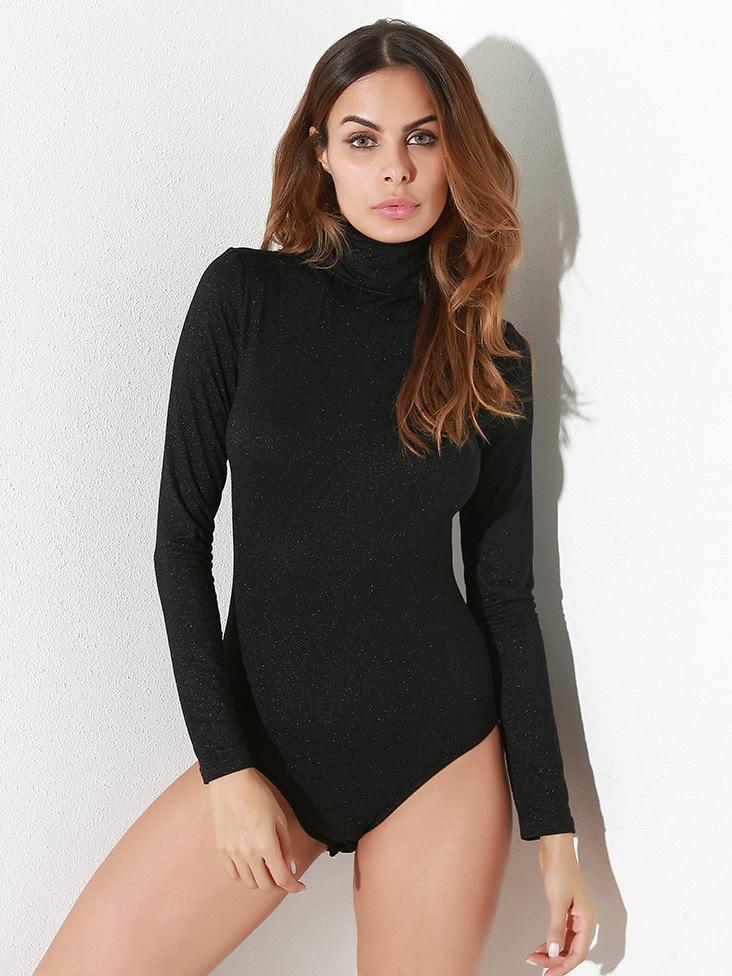 все цены на High Neck Sparkle Bodysuit