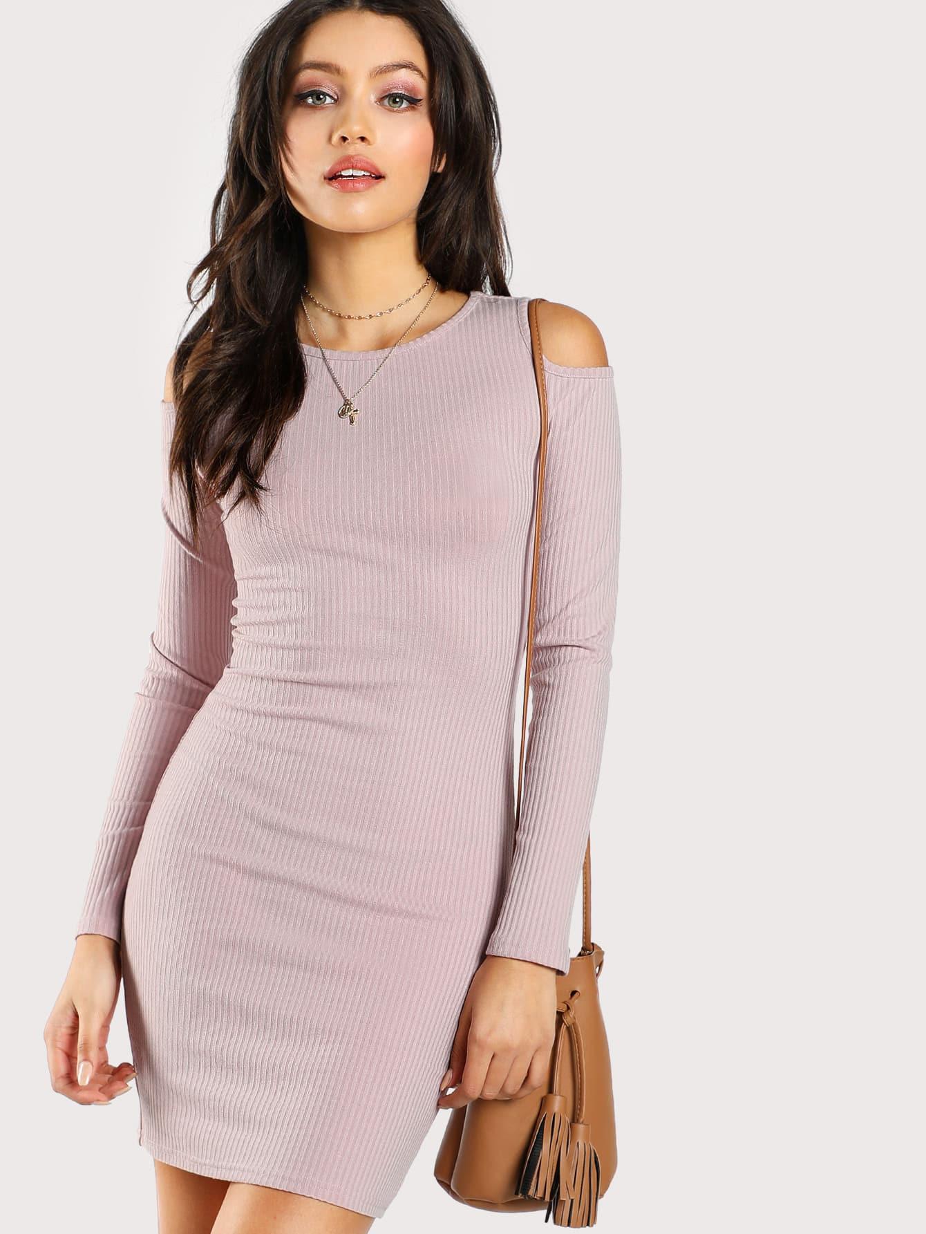Open Shoulder Dress open shoulder printed dress
