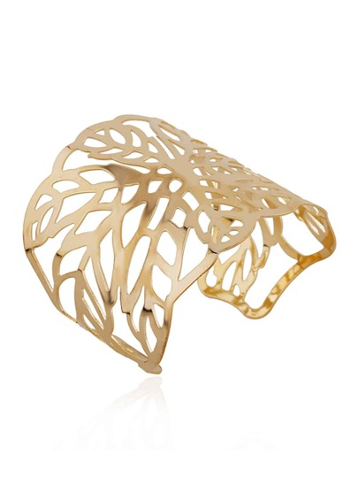 Cut Out Leaf Cuff