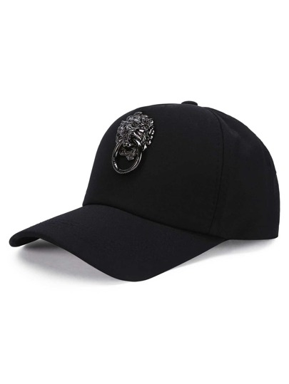 Metal Patch Baseball Cap