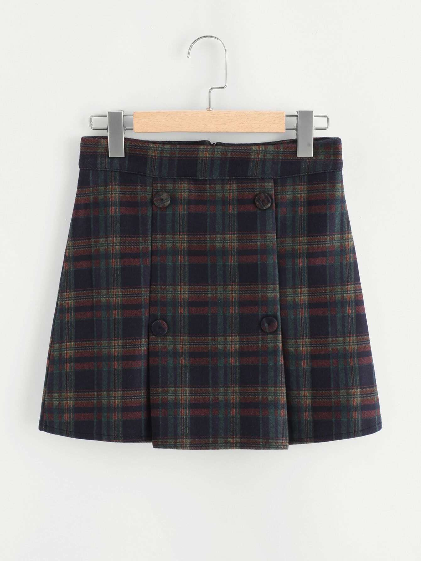 Tartan Plaid Skirt цена и фото