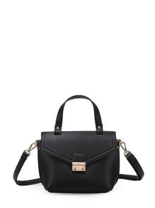 PU Shoulder Bag With Handle