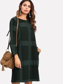 Textured Tunic Dress