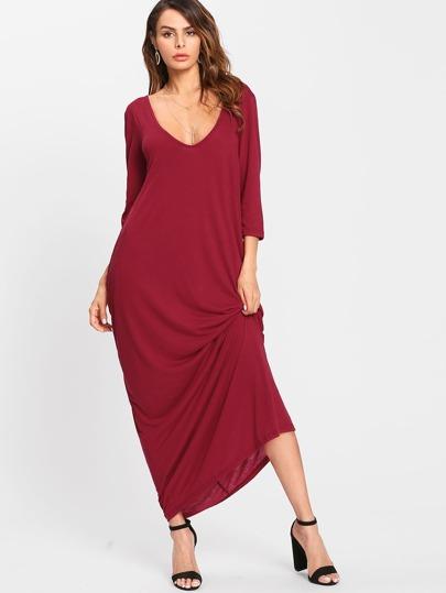 Open Back Cocoon Dress