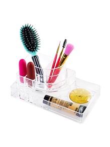 Organizador acrílico transparente de maquillaje