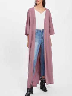 Slit Side Long Kimono