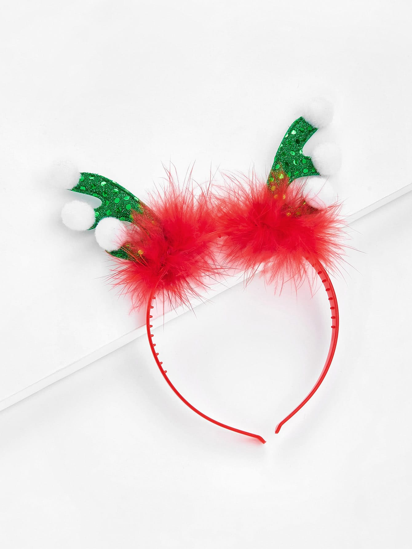Christmas Sequin Antlers Headband