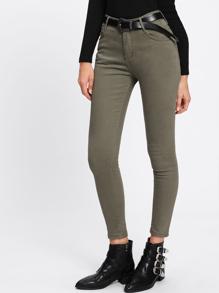 Jeans cheville ajusté