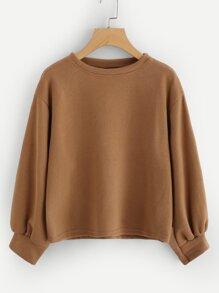 Sweatshirt mit Laternenhülse