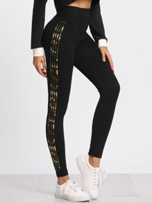 Side Panel Skinny Leggings