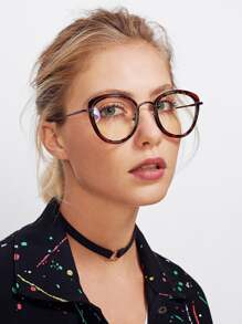 Vintage Clear Lens Glasses