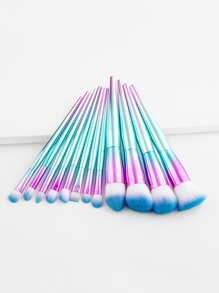 Ombre Handle Makeup Brush Set 12pcs