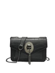 Metal Tassel Flap Bag