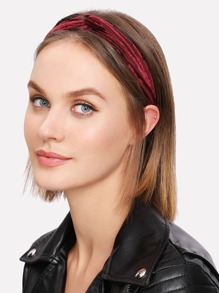 Ribbed Twist Headband