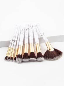 Ensemble de pinceaux de maquillage 9pcs