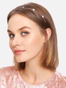 Beaded & Rhinestone Headband