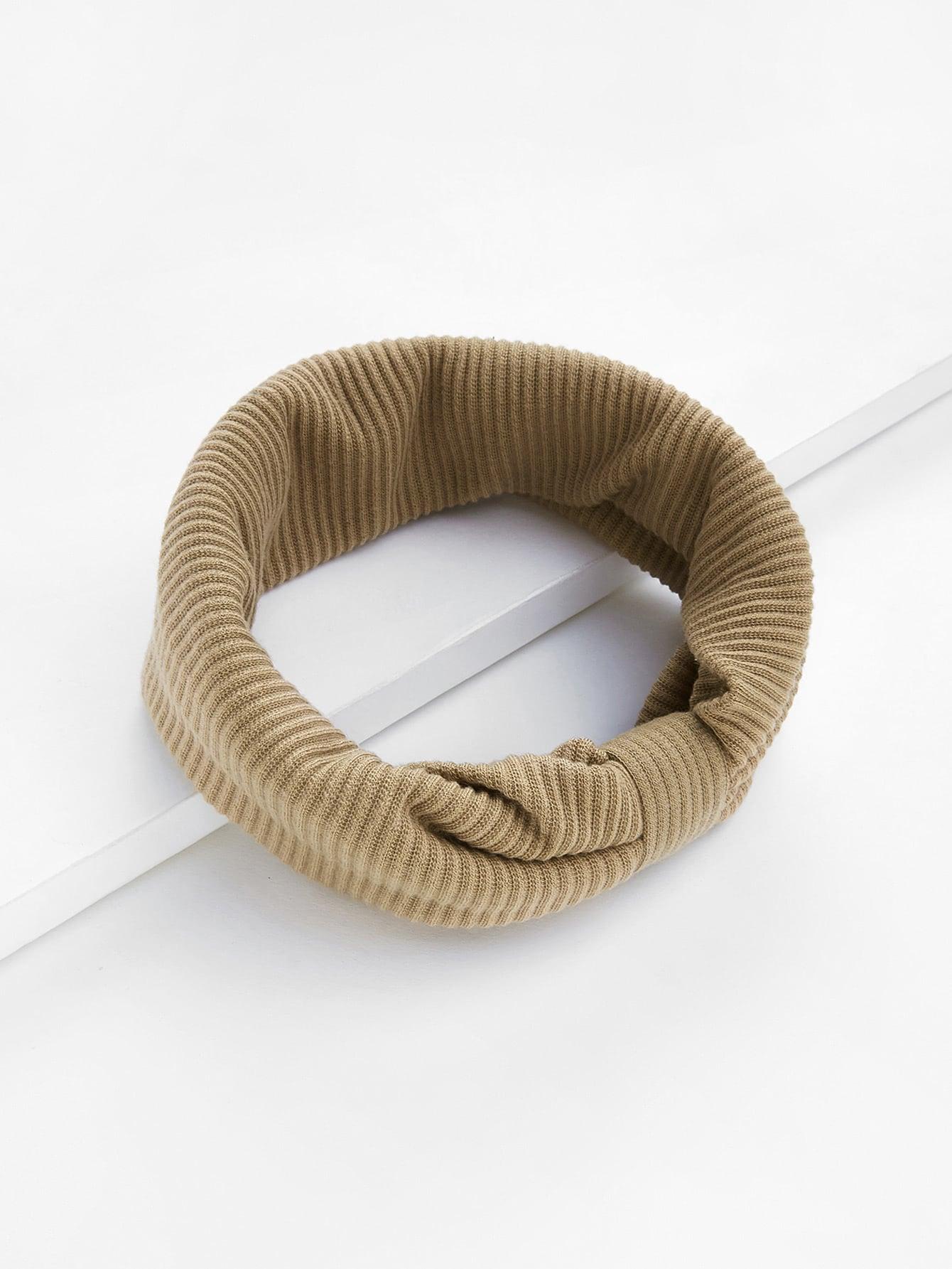 Ribbed Bow Headband