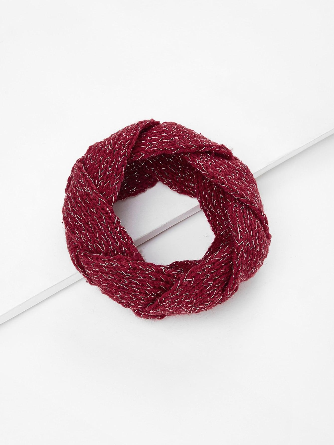 Knit Braided Headband
