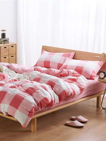 1.5m 4Pcs Colorblock Bedding Sets